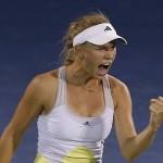 Caroline Wozniacki jamais 2 sans 3
