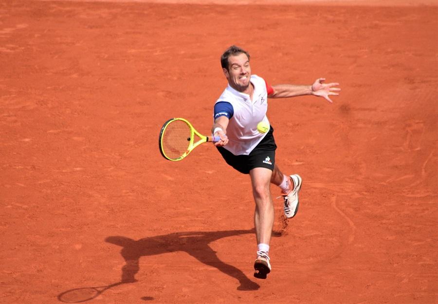 Richard Gasquet qualifié pour les quarts de finale à Roland-Garros / ©SoTennis