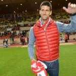 Novak Djokovic fan de l'AS Monaco