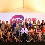 La WTA fête ses 40 ans