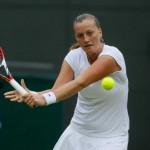 Petra Kvitova en quarts