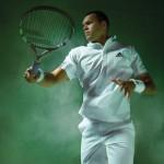 Tsonga, Ivanovic tout de blanc vêtus