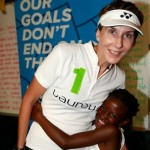 Monica Seles ambassadrice du tennis