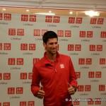 Djokovic rencontre ses fans