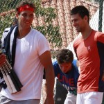 Montréal Djokovic avec Nadal