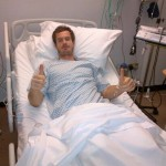 Andy Murray à l'hôpital