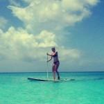 Maria Sharapova, dans les Caraïbes
