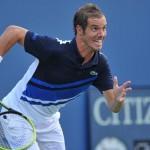 US Open: Gasquet prend son quart, Federer sombre