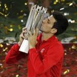 Djokovic reste le patron en Chine