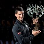 Novak Djokovic s'impose de nouveau à Bercy