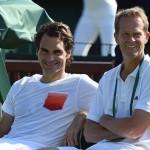 Roger Federer et Stefan Edberg, c'est fini