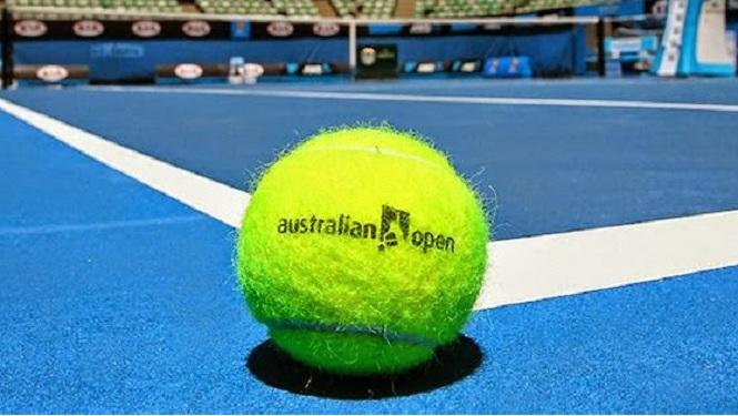 """L'Open d'Australie surnommé """"lHappy Slam"""". ©TennisAustralia"""