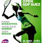 Open GDF SUEZ: Mladenovic, Garcia invitées