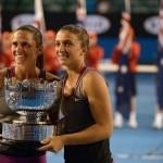 Open d'Australie: Errani et Vinci titrées