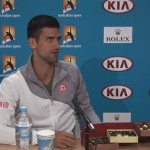 Djokovic offre des chocolats