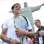 Rafael Nadal en pèlerinage à Rio