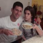 Djokovic aime les crêpes