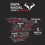 Rafael Nadal lance son circuit