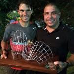 Nadal célèbre son titre avec Ronaldo