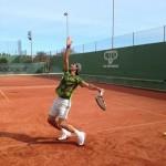 Rafael Nadal de retour à l'entraînement