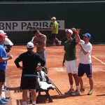 Novak Djokovic comme à la maison