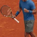 Rafael Nadal habillé pour la terre