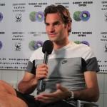 Federer espère avoir la main verte