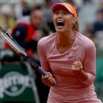 Maria Sharapova puissance 5