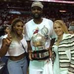 Serena et Caroline fans du Heat