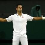 Novak Djokovic au septième ciel