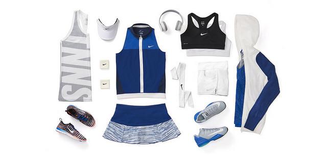 ©Nike. Victoria Azarenka tenues Nike US OPEN 2014