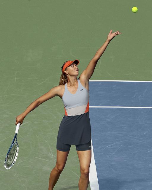 ©Nike. Maria Sharapova tenues Nike US OPEN 2014