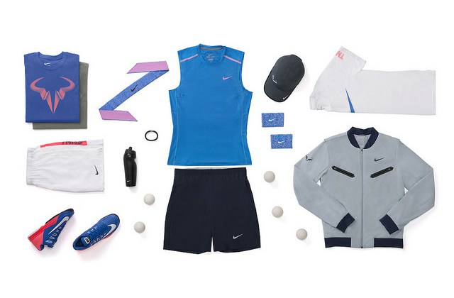 ©Nike. Rafael Nadal tenues Nike US OPEN 2014