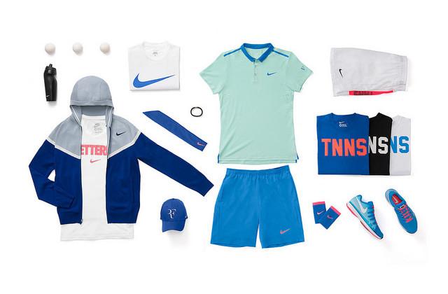 ©Nike. Roger Federer tenues Nike US OPEN 2014