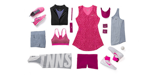 ©Nike. Serena Williams tenues Nike US OPEN 2014