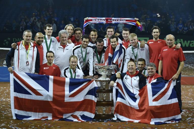La Grande-Bretagne remporte la Coupe Davis. ©AFP