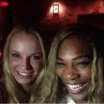 Serena et Caroline se retrouvent hors du court