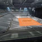 Le stade Pierre-Mauroy en mode tennis