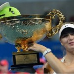 Maria Sharapova s'impose à Pékin
