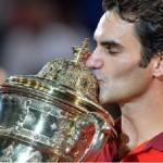 Federer, la fête à la maison