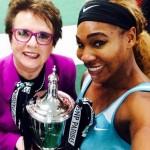 Le selfie de Serena et Billie Jean