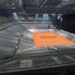 Le Stade Pierre-Mauroy prêt pour la Coupe Davis