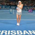 Maria Sharapova commence fort