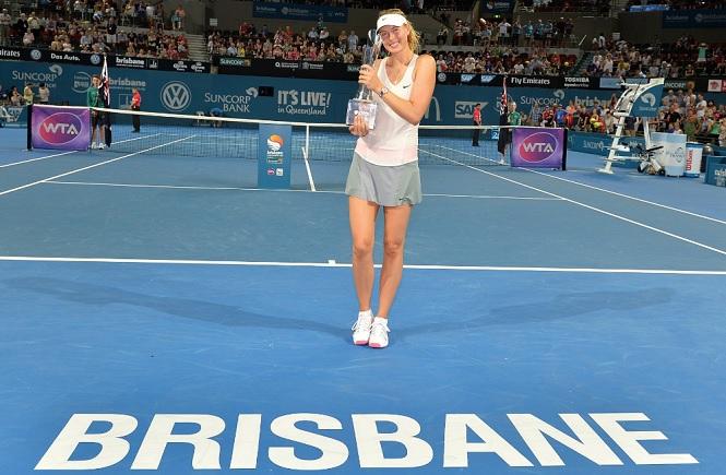 Maria Sharapova Brisbane 2015