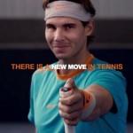Rafael Nadal et sa raquette connectée