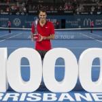 Roger Federer dans le 1000