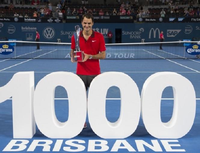 Roger Federer Brisbane 2015