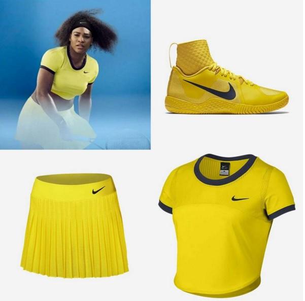 Tenue Nike Serena Williams Open d'Australie 2016. ©Nike