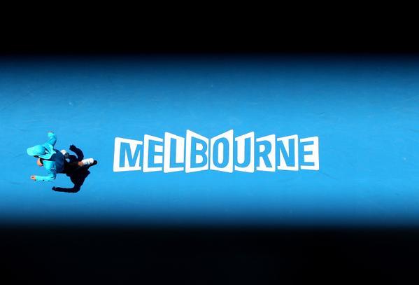 Eurosport à l'heure australienne pendant l'Open d'Australie. ©AO