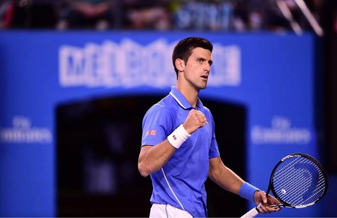 Novak Djokovic Open d'Australie 2015